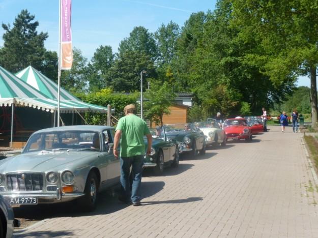 Bij de Boskant was de start van antieke automobielen.