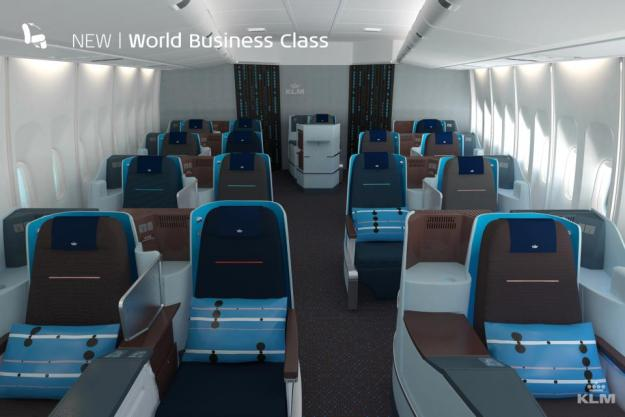 KLM World Business Class.