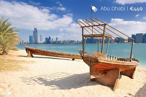 Abu dhabi met de Seven Seas company