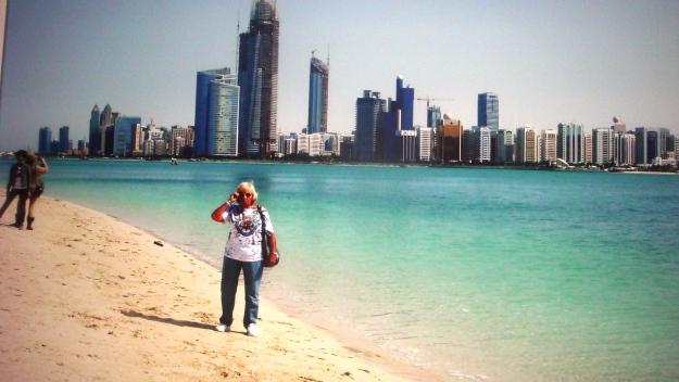 Gaby in Dubai