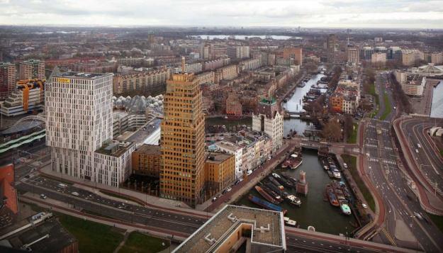 Rotterdam met Skyline