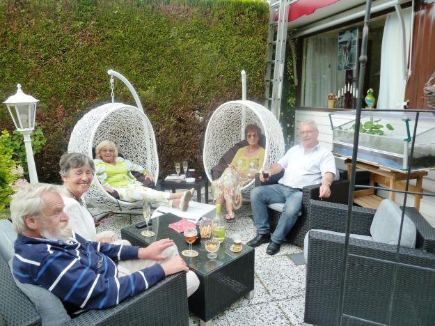 Jos en Petra in Oisterwijk + Corry en Anton