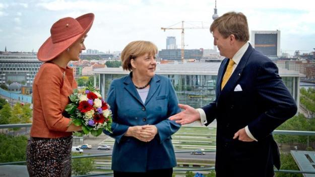 Ons K. paar met Merkel