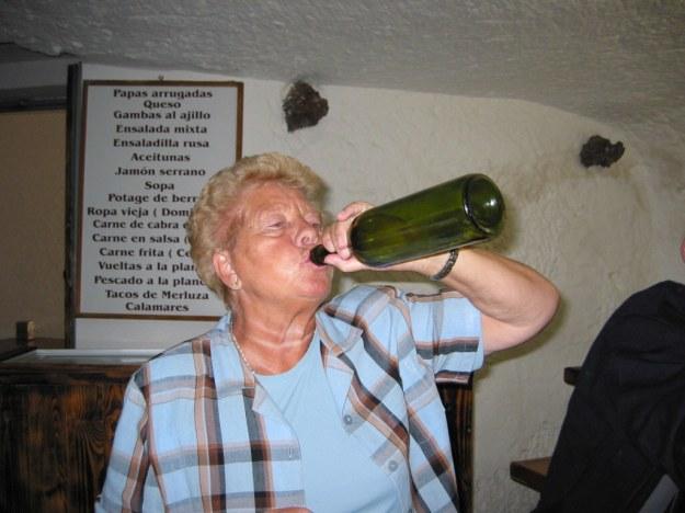 Erika letste rest uit de fles