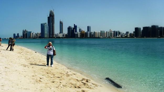 Gaby in Abu Dhabi cp