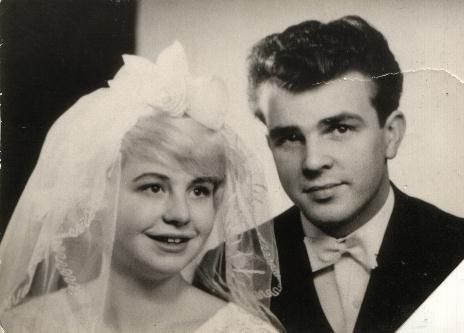 Gaby Dick Huwelijksfoto