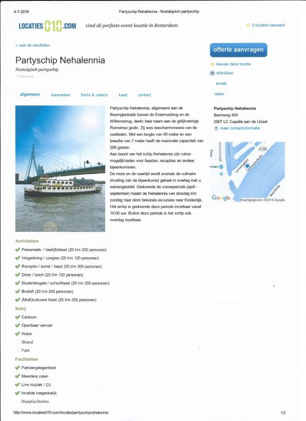 M.S. Nehalennia Boompjeskade Rotterdam 001