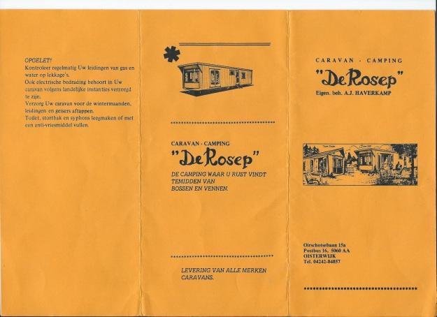 prijzen Camping de Rosep 1985 bij Ton Haverkamp ( Riet's broeder) 001