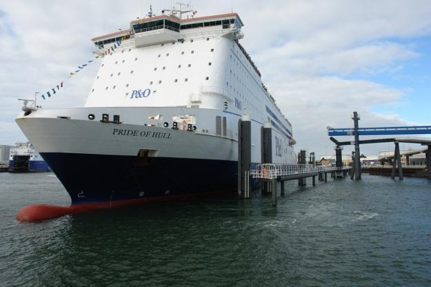P%O schip